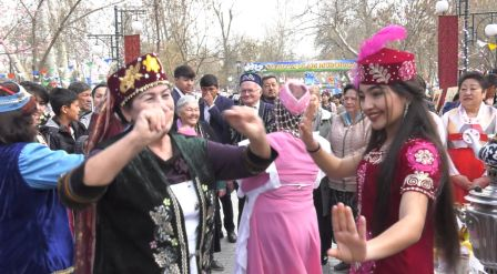 В Самарканде со всем размахом отметили национальный праздник Навруз