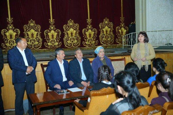 «Наш театр» - под таким названием в Самарканде прошла научно-практическая конференция