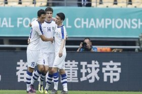 Футбол: Узбекистан обыграл Китай