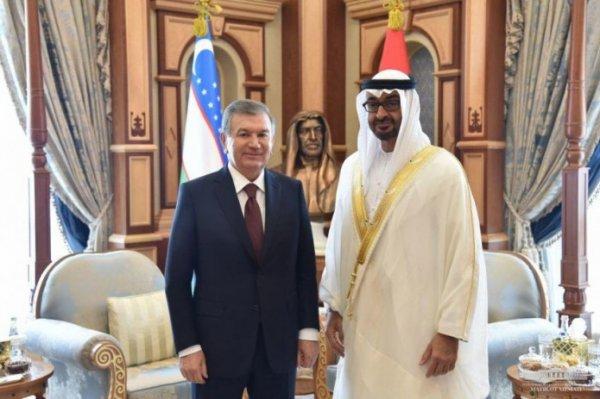 Узбекистан и ОАЭ подписали соглашения на сумму более $10 миллиардов