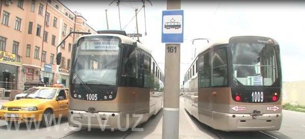 Почему в Самарканде трамвай сошел с рельсов? Установлена причина