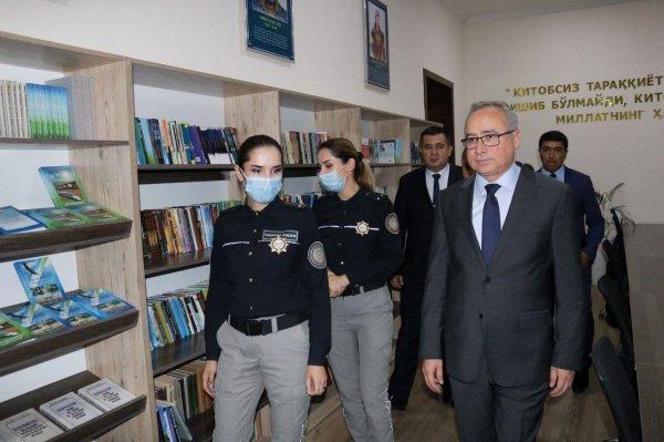 Генеральный консул Турции посетил УВД Самарканда