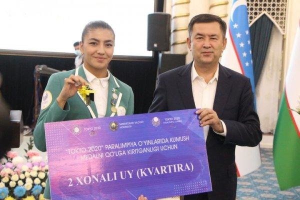 Хоким наградил победителей Олимпийских и Паралимпийских игр в Токио