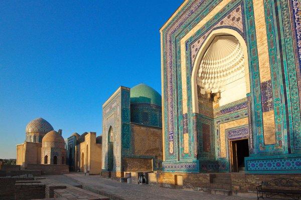 Наибольшее количество архитектурных памятников находится в Самаркандской области