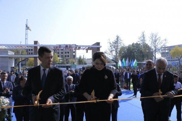В Самарканде открылась Президентская школа