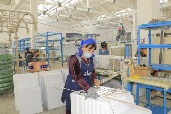 В Самарканде налажено производство бытовой техники